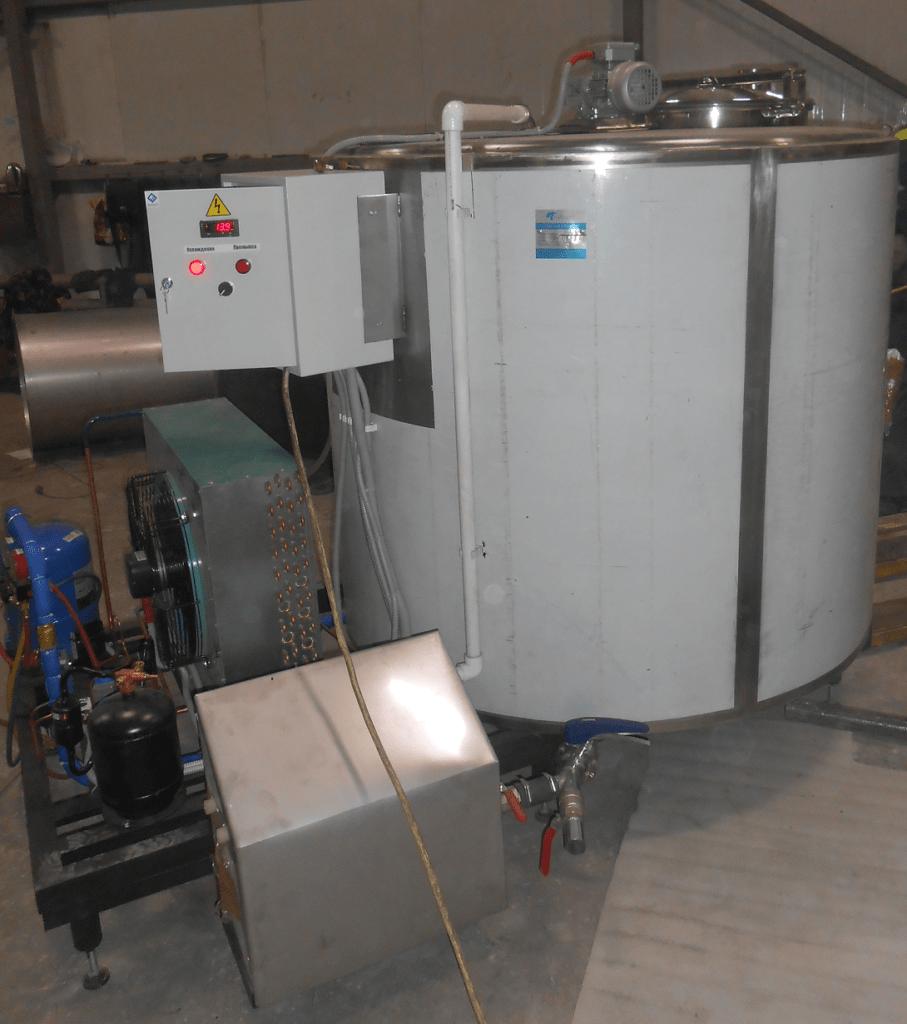 агрегат охлаждения молока