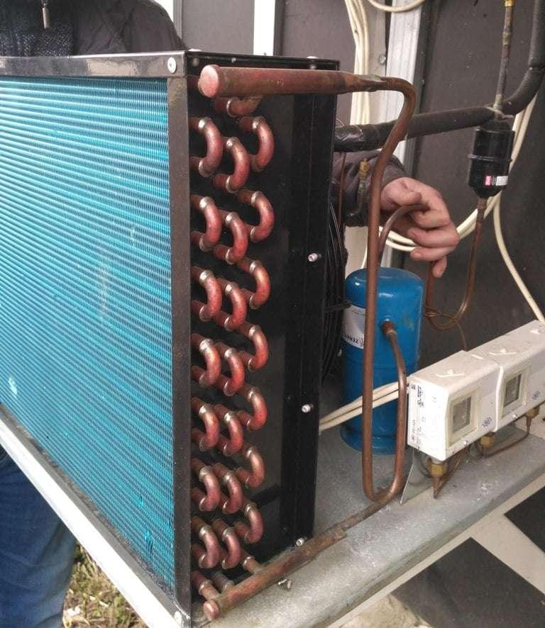 Обслуживание холодильных камер для хранения мяса – моноблок низкотемпературный