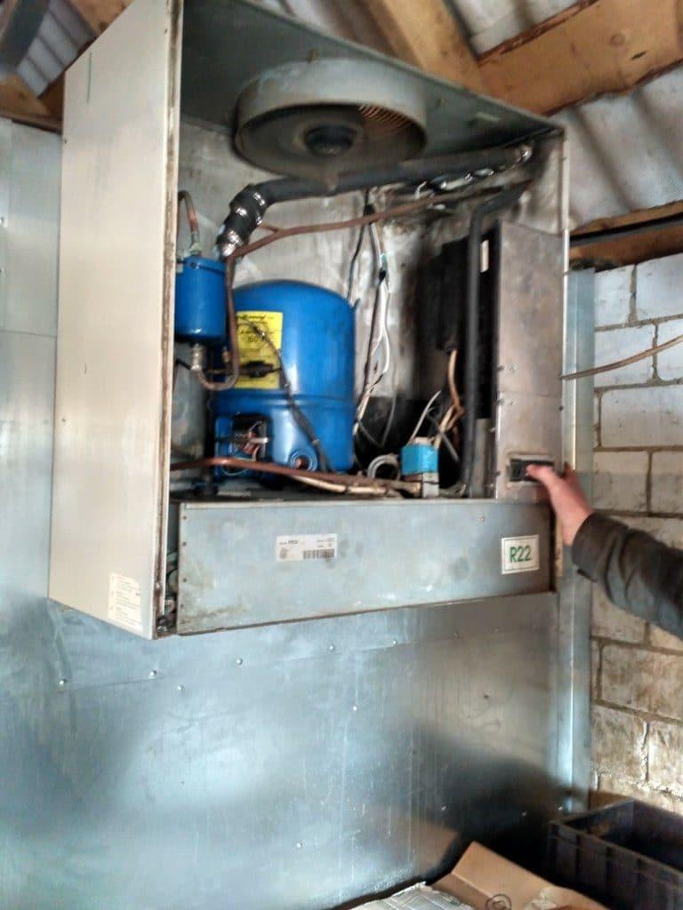 Низкотемпературный моноблок для холодильной камеры