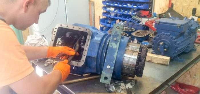 ремонт холодильного компрессора битцер