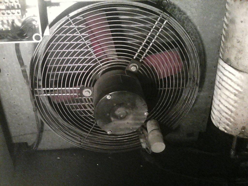 Вентилятор осушителя