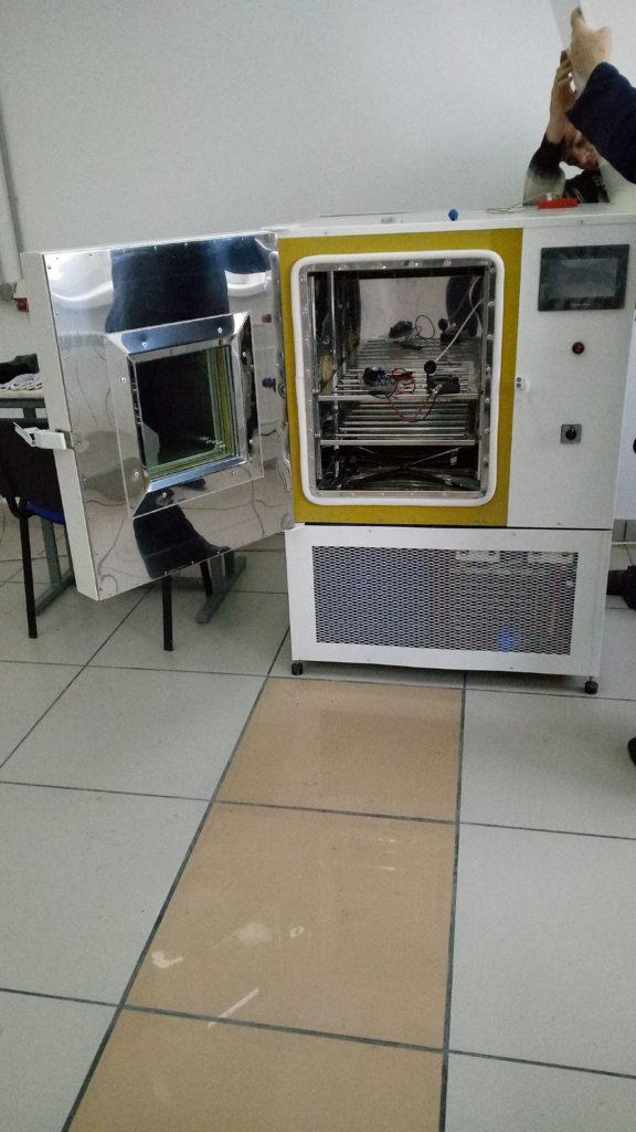 Ремонт испытательной камеры