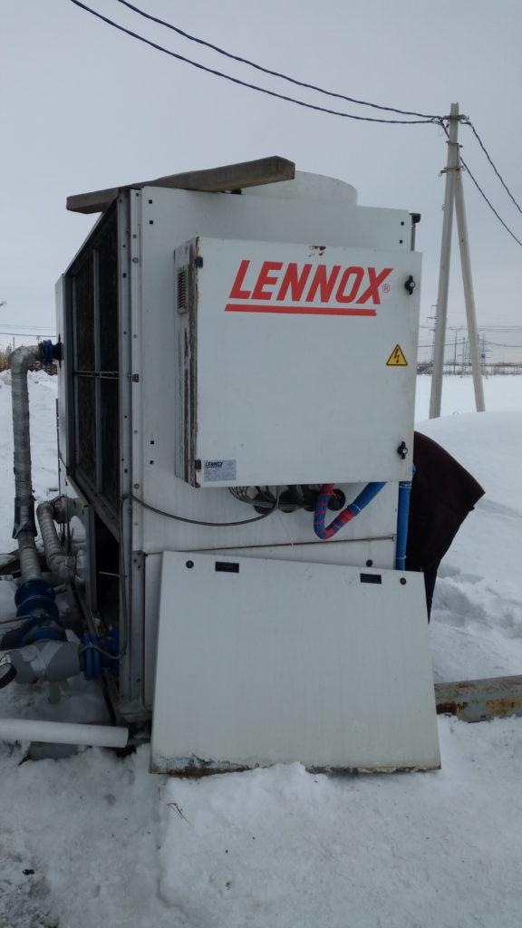 ремонт чиллера lennox