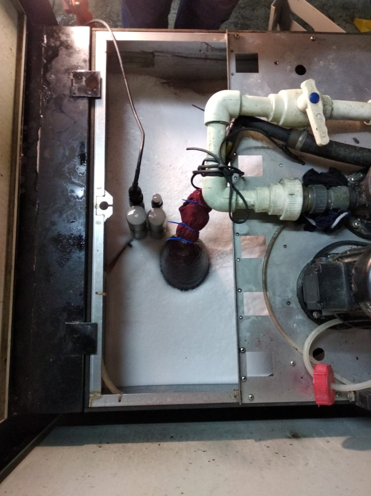 ремонт охладителя типографии