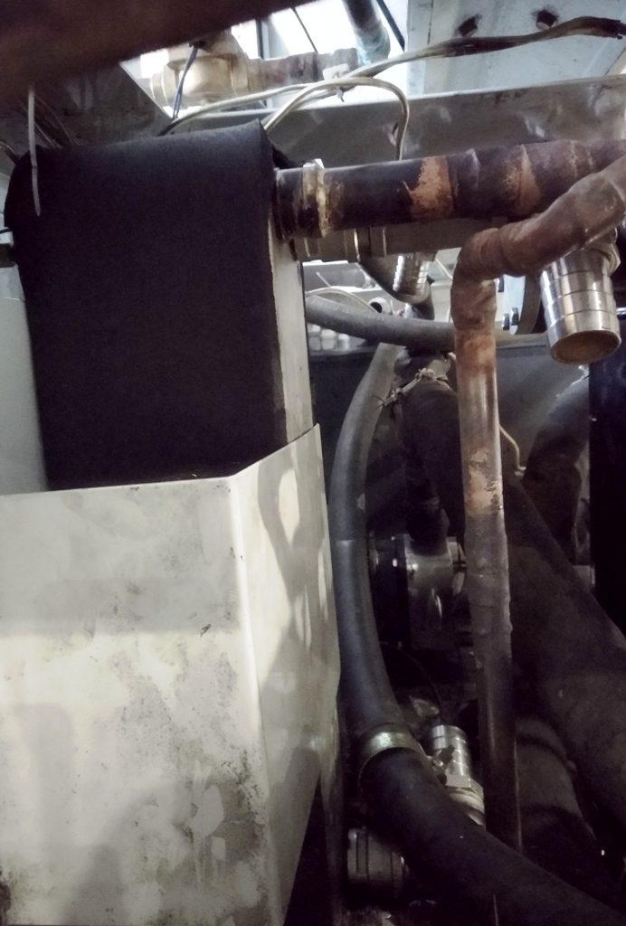 Замена теплообменника пластинчатого чиллера Water Chiller