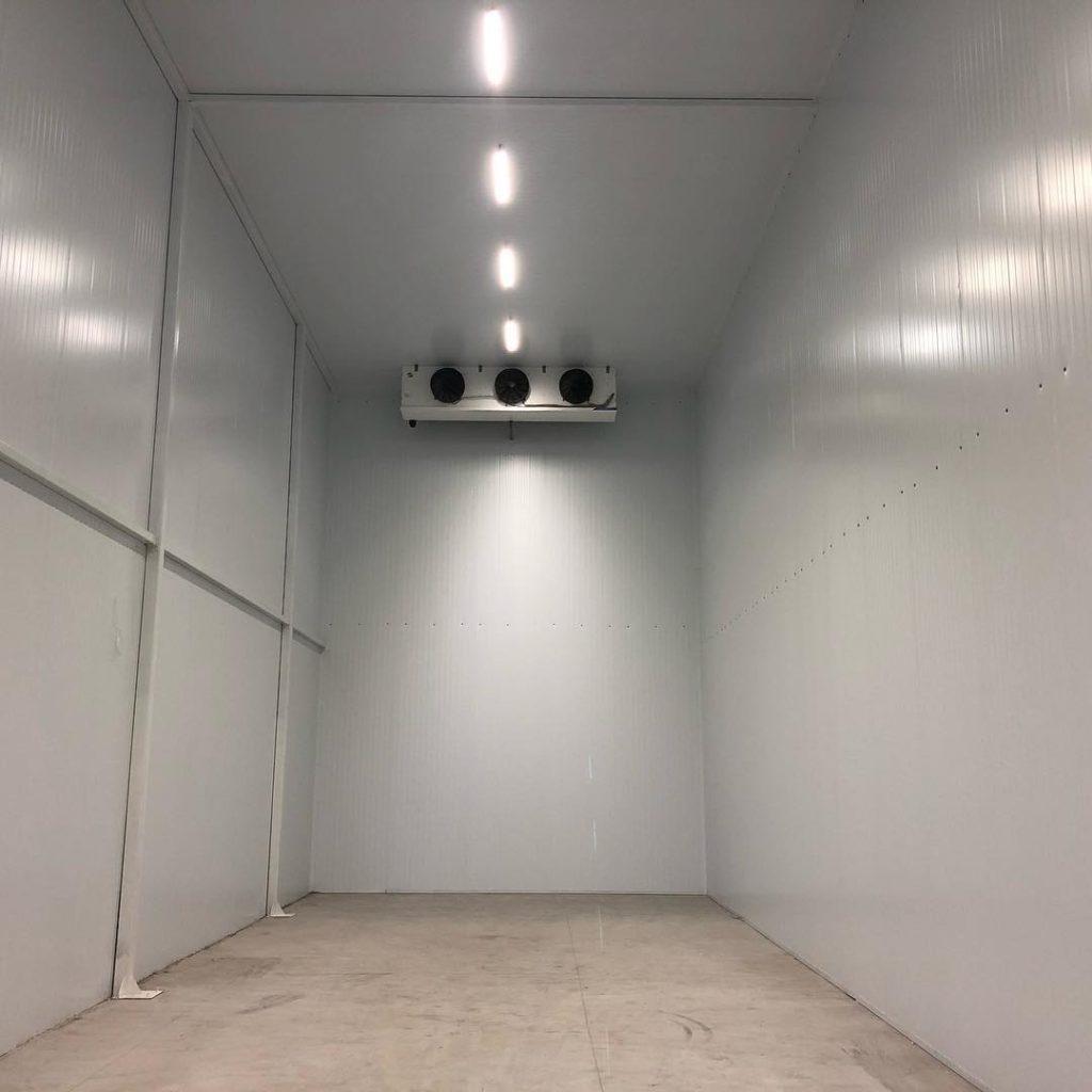 Монтаж промышленных холодильных агрегатов