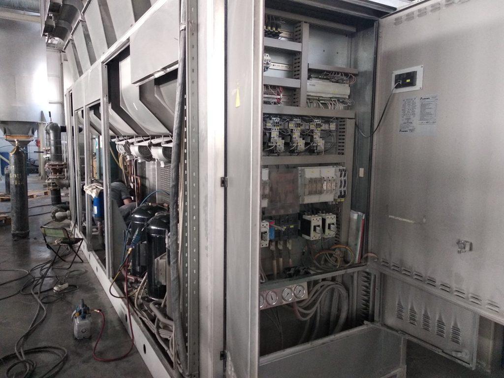 ремонт промышленного чиллера