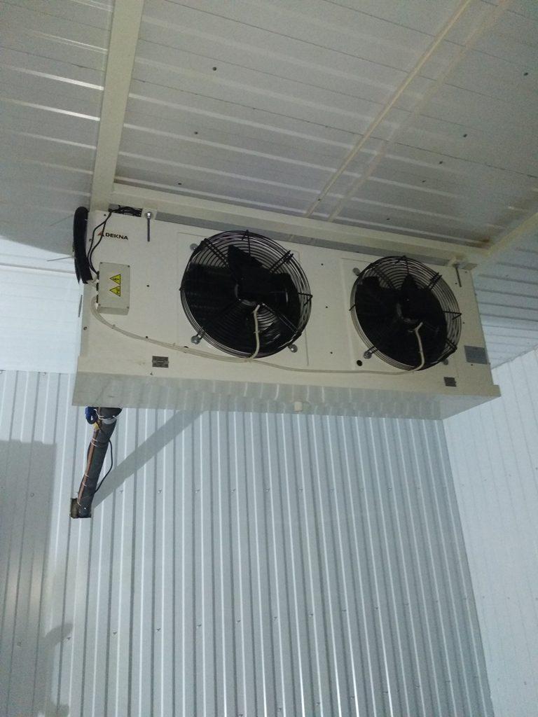 Оснащение холодильным оборудованием предприятия под ключ