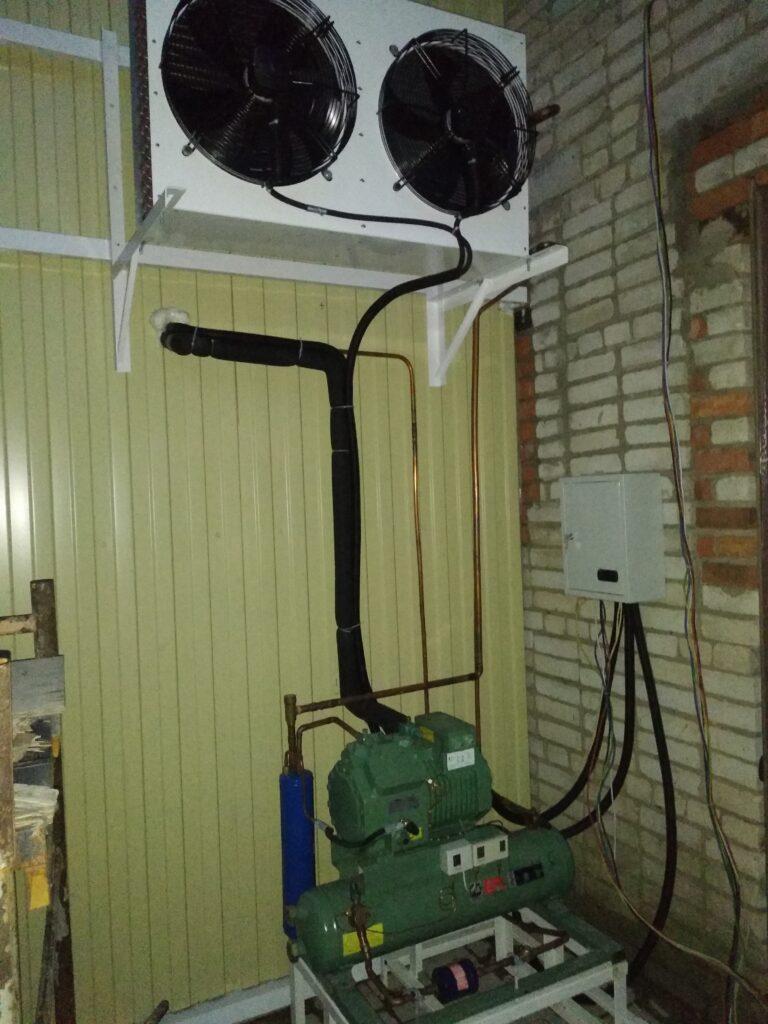 холодильный агрегат для склада