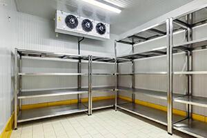 Установка холодильных камер